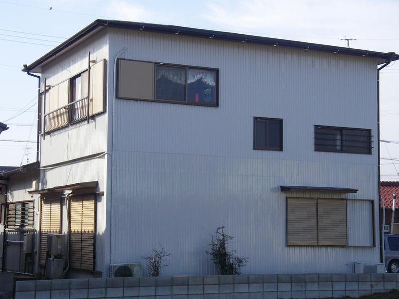 刈谷市K様邸外壁トタン及び屋根塗り替え塗装
